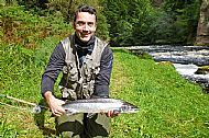 A 2nd grilse for Jörg