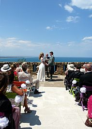 A seaside Ceremony