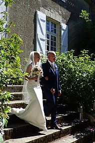 Kirsty & Alan. August 2016 Chateau de Lartigolle