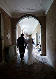 Louise & Nick L'Abbaye-Chateau de Camon. September 2017