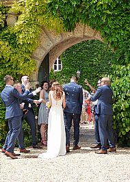 Rachel & Tom Chateau de Malliac May 2017