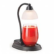 AURORA BLACK CANDLE WARMER LAMP