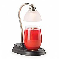 AURORA PEWTER CANDLE WARMER LAMP