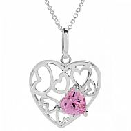 BARCELONA ENCHANTED HEART NECKLACE