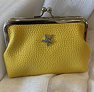 YELLOW COIN PURSE