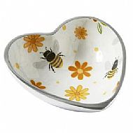 BUSY BEE ROUND HEART BOWL