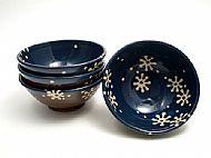 Flower cereal bowls