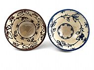 Small foliage bowls