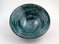 Birthday blessings bowl