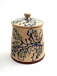 Oak leaf jar