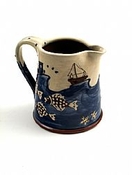 Seaside jug, medium straight