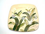 Medium square serving platter (ramsons))