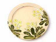 Round serving platter medium  (primrose)