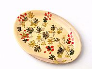 Medium oval serving platter (hawthorn)