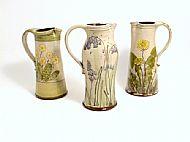 Large jug (primrose, bluebell, dandelion)