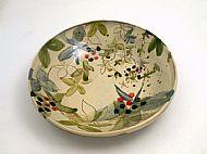 Large open serving bowl