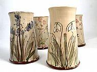 Straight medium vases