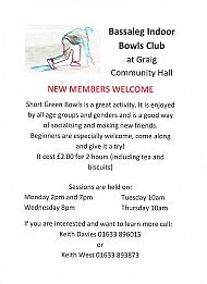 Bassaleg Indoor Bowls Club