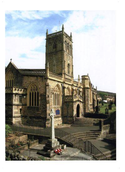Axbridge Parish Church from The Square