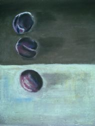 Purple plums with Rothko