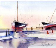 Boat at Brightlingsea