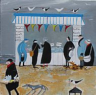 The Beach Fish Stall