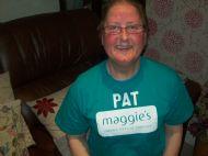 Pat in Maggies Tshirt