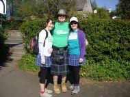 Stephen with Sandie & Eilidh