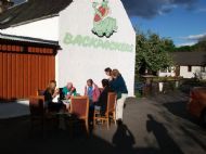 Relaxing at the Backpackers in Drumnadrochit