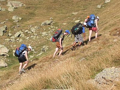 spanish pyrenees dofe expedition