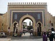 Gate to Fes medina