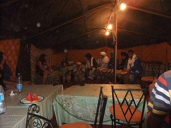 Inside the Bedouin tent & Sahara desert tour Morocco organised by Berber Treks Morocco