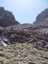 Ascent of Toubkal summit