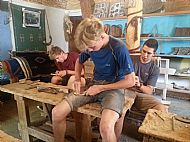 Carpentry with the men's association
