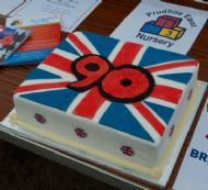 Celebration Cake donated by The East Nursery