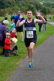 Steve Rankin - Winner of SCA Miners 10k Race