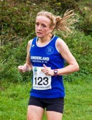 Michelle Avery - 1st Lady in the SCA Prudhoe Miners 10k Race