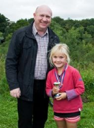 Charlotte Graham - 3rd Girl in Mini-Run