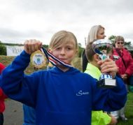 Frances Grierson - 1st Girl in Mini-run