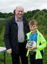 Oliver Douglas - Runner-up and 2nd Boy in Mini-run