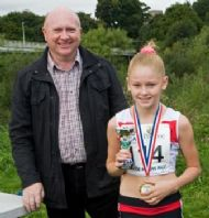 Tegan Hewitt - 2nd Girl in Junior Race