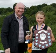 Chantelle Ree - 1st Girl in Junior Race