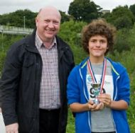 Jaycee Shotton - 3rd Boy in Junior Race