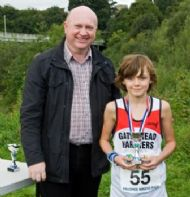 Ethan McGlen - Runner-up and 2nd Boy in Junior Race