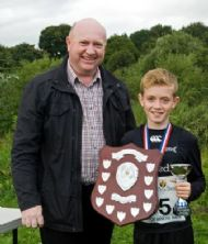 Patrick Lally - Winner of Junior Race