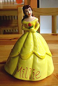 ........... and a personalised belle trinket box. cost �30