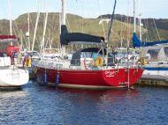 red ruth, port quarter on pontoon in ardfern october 2007