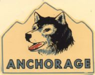 Anchorage and husky