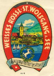 Wolfgang a. See Weisses Rössl