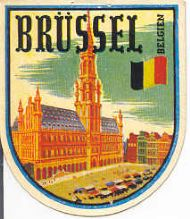Brüssel (German Decal for Brussels !)